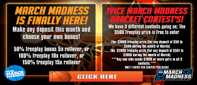 2016 March Madness Betting Promotion