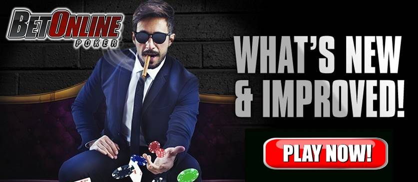 BetOnline Poker Room Improvements