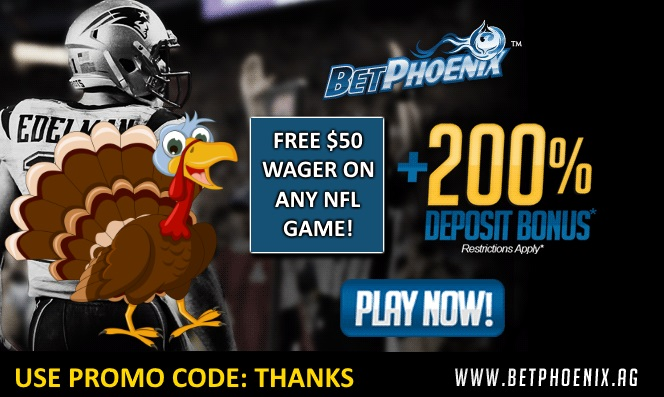 BetPhoenix Thanksgiving Promo