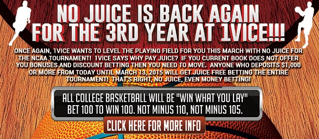 no juice basketball betting