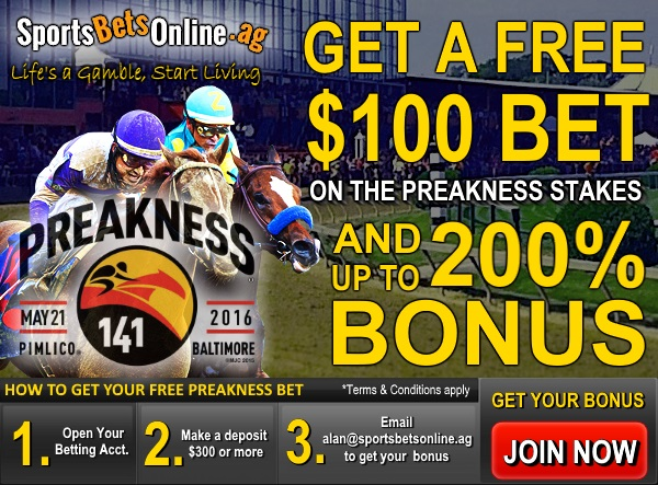 2016 Belmont Stakes Betting