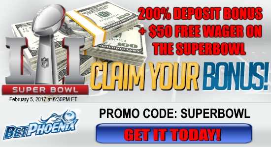 Super Bowl Sportsbook Promotion by BetPhoenix
