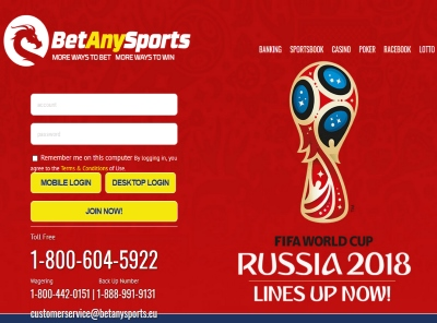 BetAnySports.eu Sportsbook Review