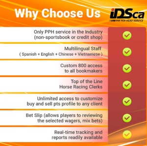 IDSCA Sportsbook Pay Per Head